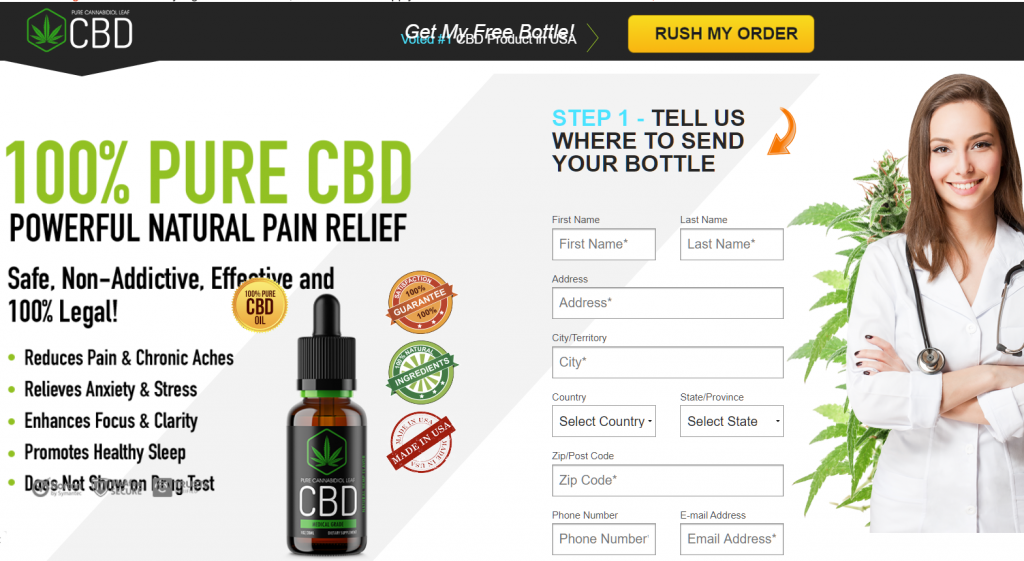 CBD Free Trial Offer Scammers