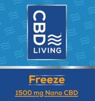 CBD Living Freeze at your local Carolina Hemp Hut