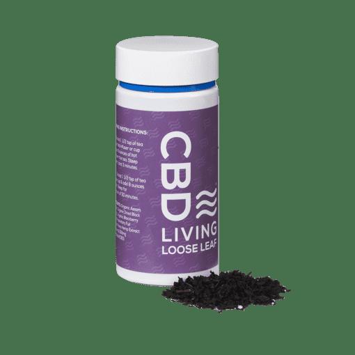 CBD Living Berry Black Loose Leaf Tea