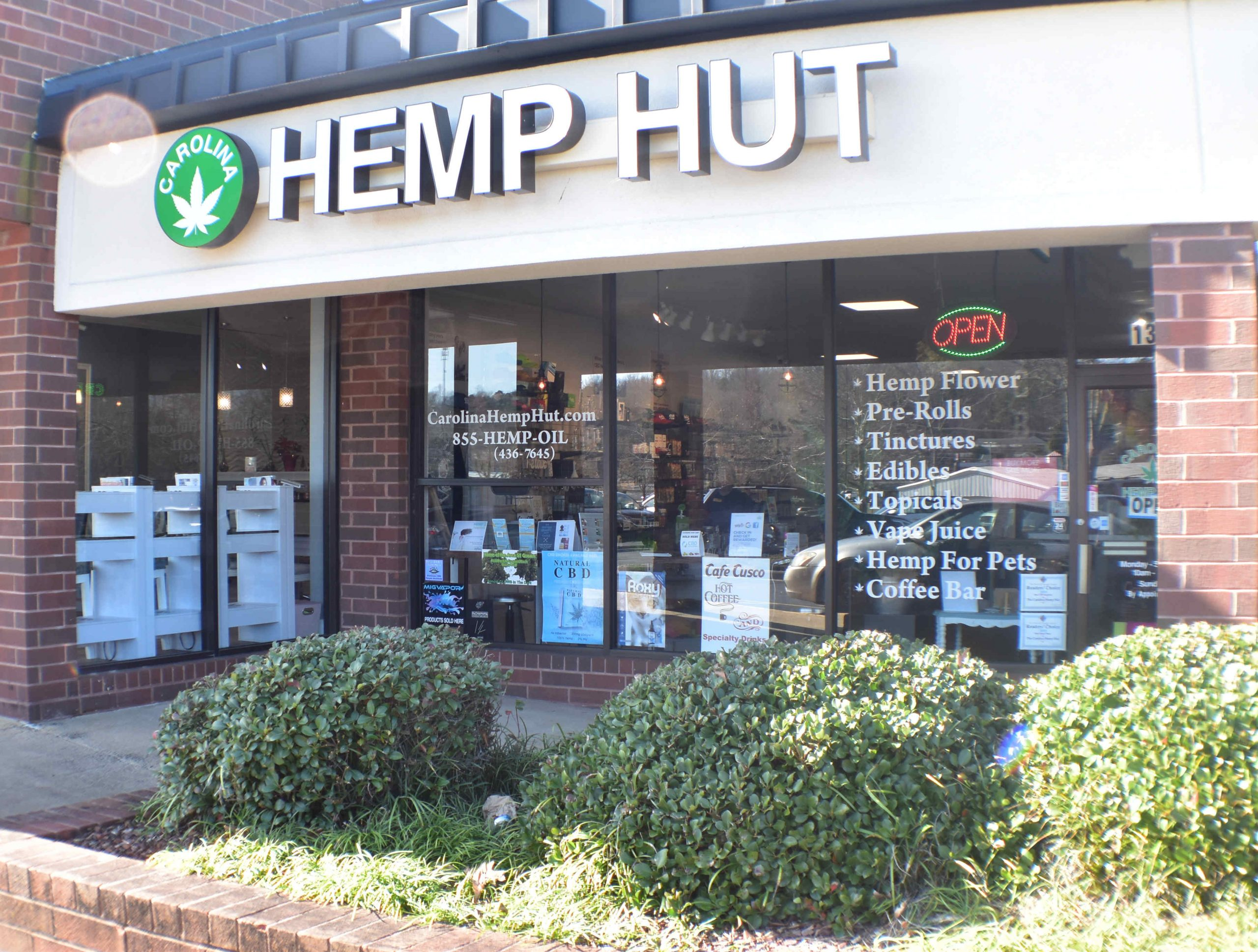 Carolina Hemp Hut - Hillsborough