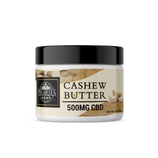 CBD Cashew Butter 500mg 6oz