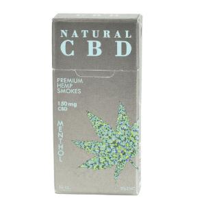 Natural CBD Menthol Cigarettes