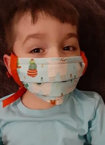Face Mask Child protecting COVID19