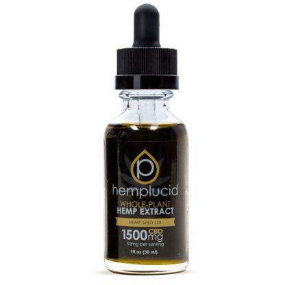 Humplucide Hemp Oil Extract with CBD in Hempseed Oil