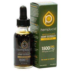 Hemplucid Hemp Oil Extract Hempseed