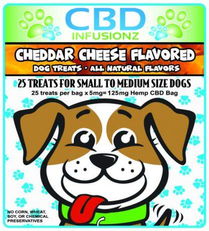 CBD Dog Treats Cheddar Cheese