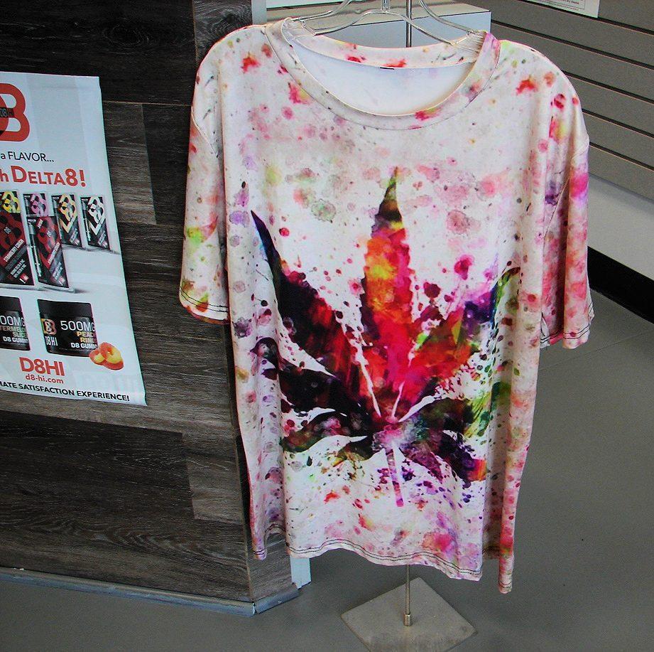 Tie Dye style t-shirts and apparel at Carolina Hemp Hut
