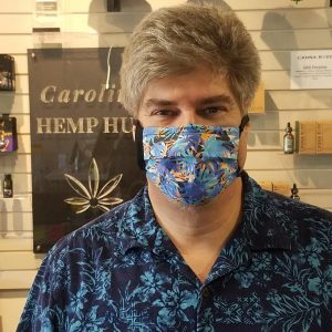 Hemp Themed Face Mask