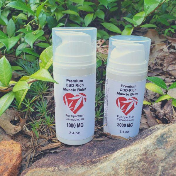 Bona Vida Hemp Ultra Strength Muscle and Joint Balm