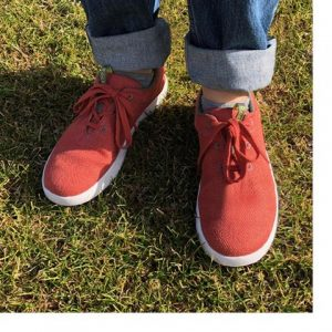 Natural Hemp Uppers in Shoes from Rackle