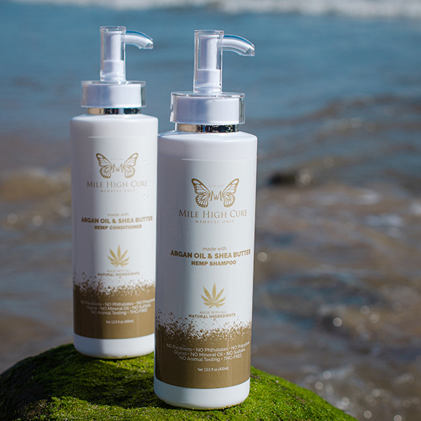 Hemp Hair care shampoo and conditioner
