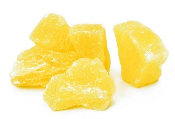 Sweet Dried Pineapple bites