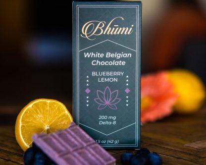 Bhumi Delta 8 White Blueberry Lemon Chocolate