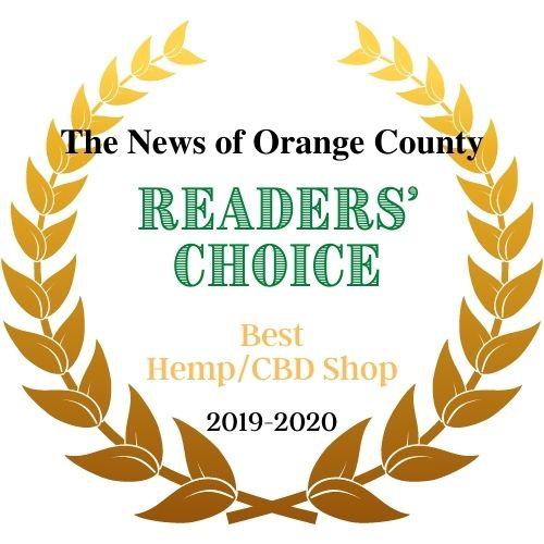 Readers Choice award News of Orange Best CBD cbd stores near me
