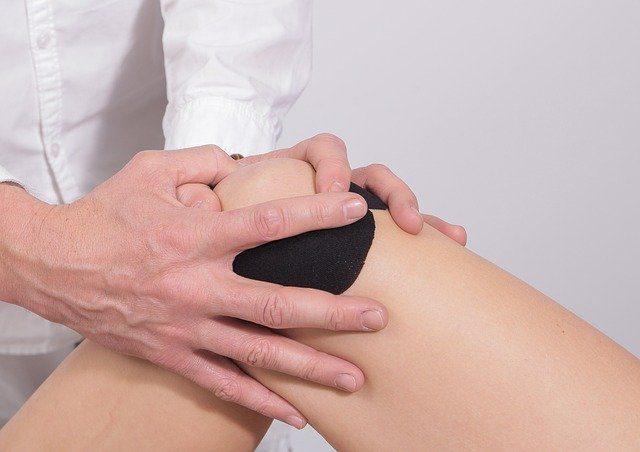 discomfort from knee pain