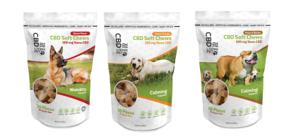 CBD Living Dog Treats CHEWS
