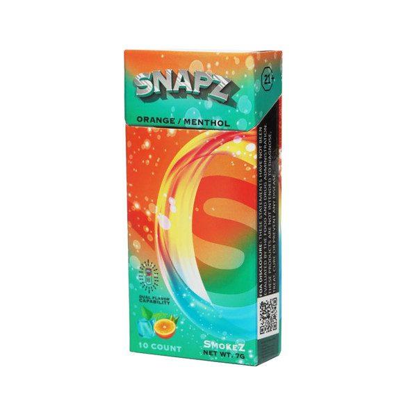 Snapz Orange Menthol Hemp Cigarettes
