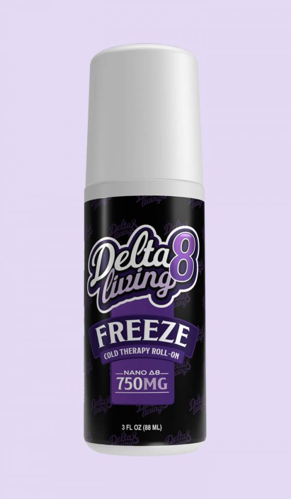CBD Living Freeze Delta 8