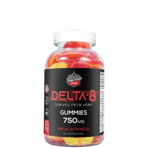 Delta 8 Gummy Peach Rings
