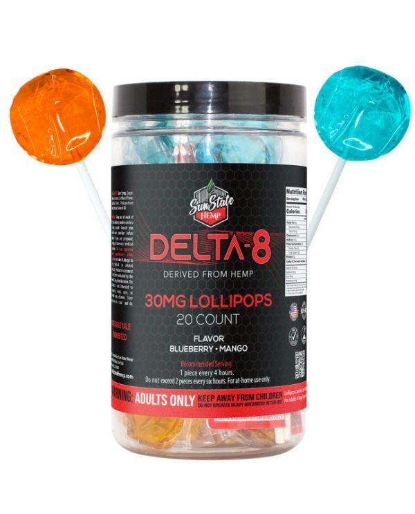 Delta 8 Lollipops from Sun State Hemp